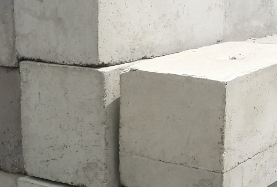 Large and Small Concrete Blocks